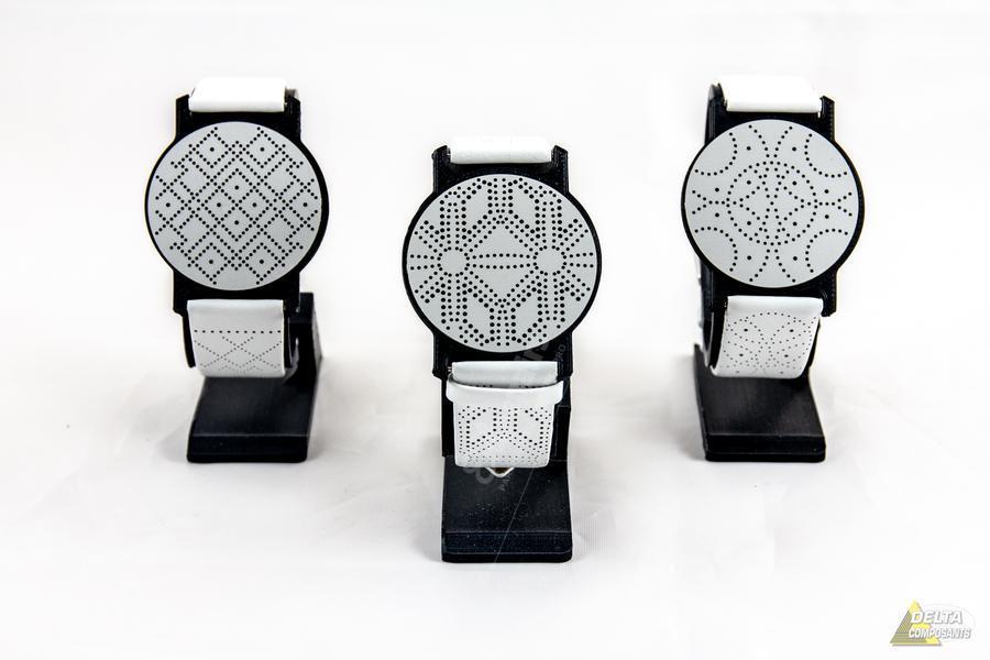 microperçage bracelet de montre
