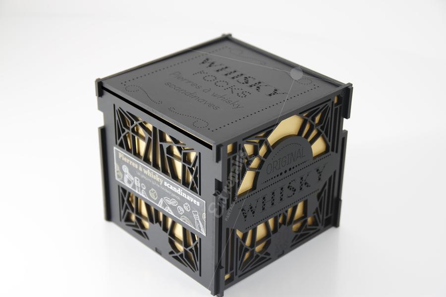 microperçage emballage haut de gamme