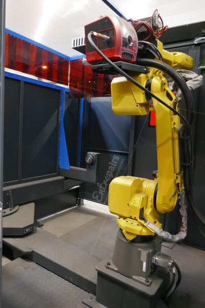 Robot de soudage Mig/Mag